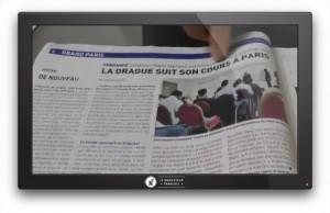 Photo:Reportage sur nos séminaires dans le journal 20 Minutes