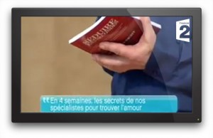 Photo: Emission d'1h sur France 2 où je suis intervenu, avec mon livre, devant plus d'1 million de téléspectateurs.